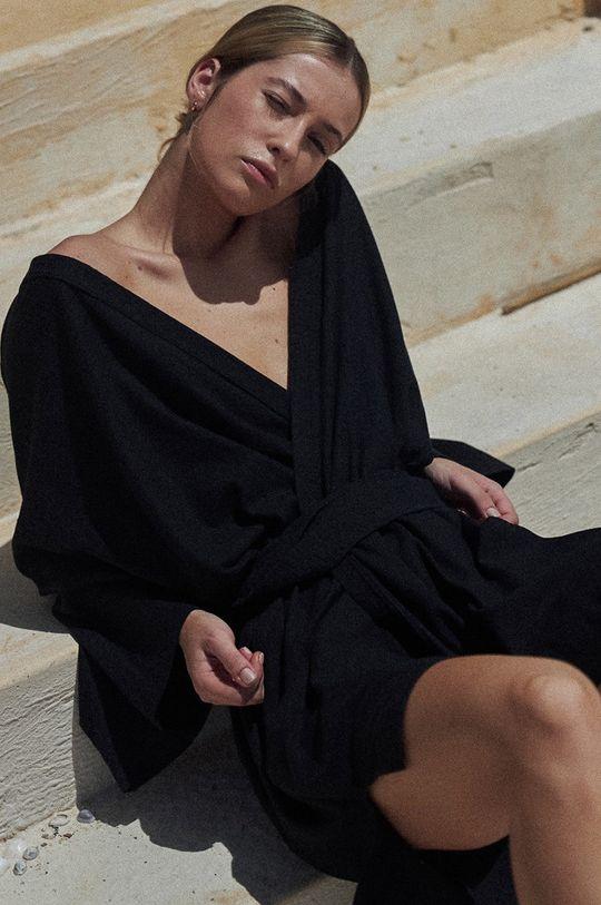 MUUV. - Sukienka Maison Mahali czarny