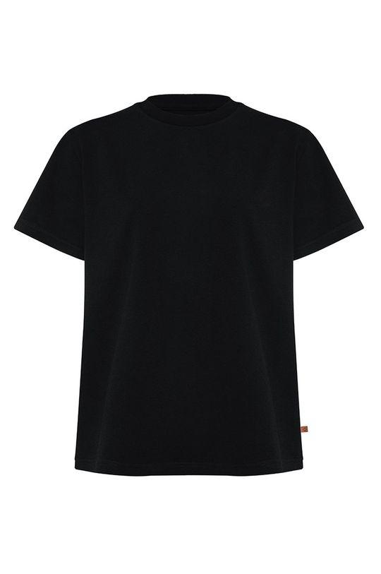 czarny MUUV. - T-shirt Premium Basic