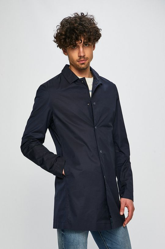 sötétkék Napapijri - Kabát Blue Marine Férfi