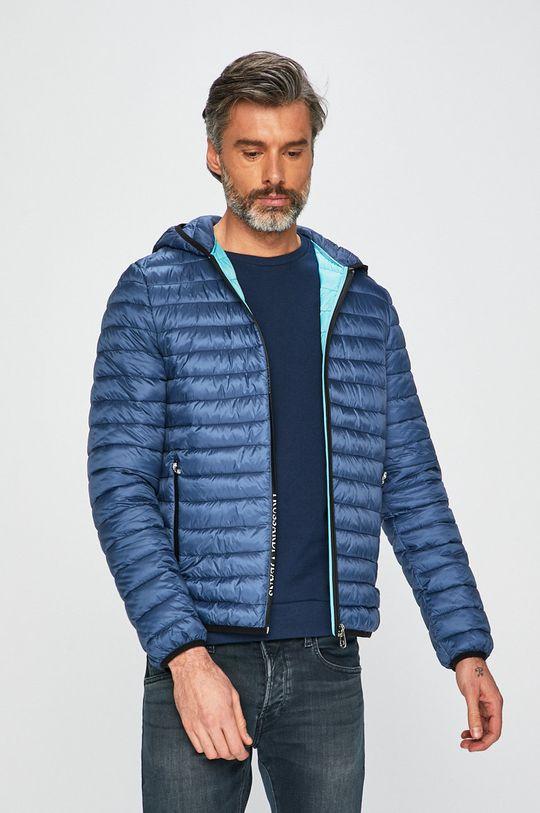 modrá Trussardi Jeans - Bunda Pánský