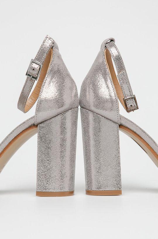 strieborná Silvian Heach - Sandále