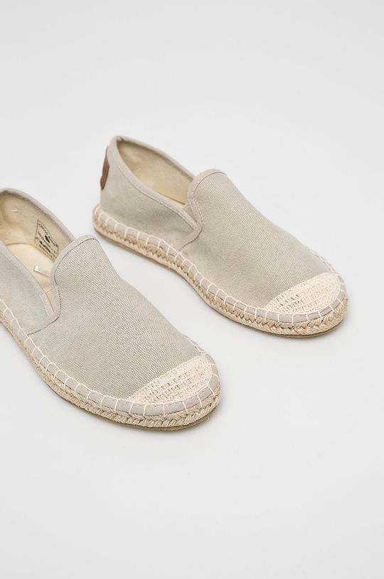 Cross Jeans - Espadrile Gamba: Material textil Interiorul: Material textil Talpa: Material sintetic