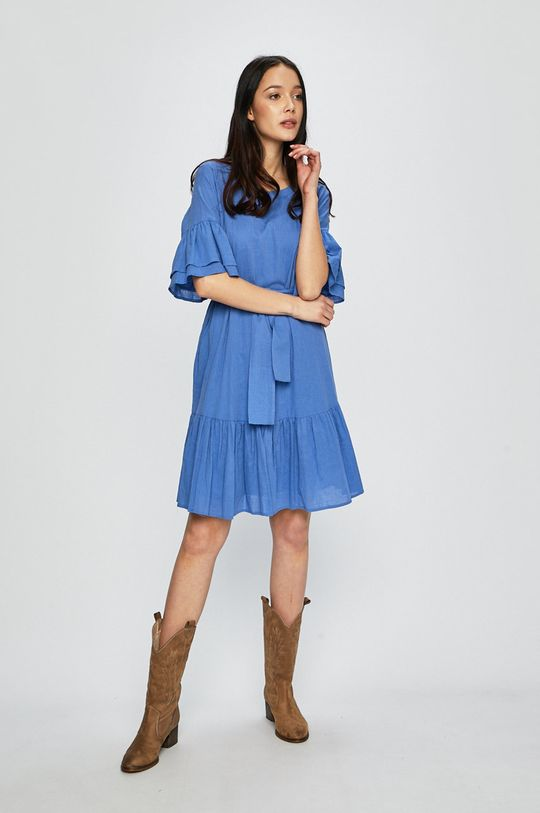 modrá Silvian Heach - Šaty Dámsky