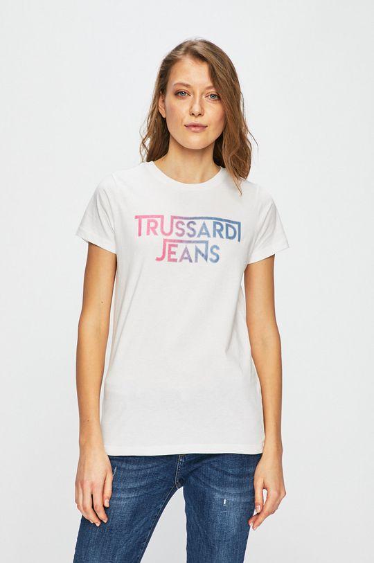 bílá Trussardi Jeans - Top Dámský