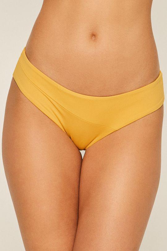 žlutá Volcom - Plavkové kalhotky Dámský