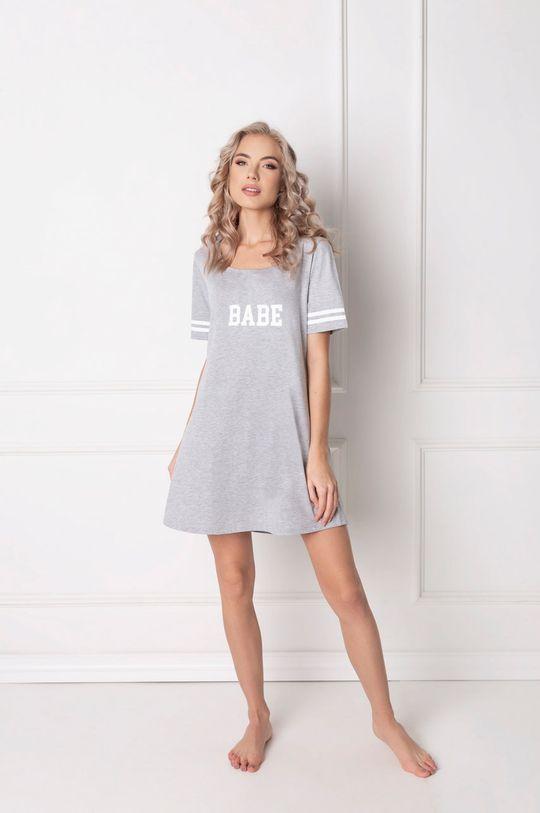 světle šedá Aruelle - Noční košilka Babe Dámský