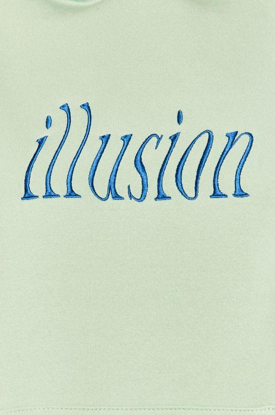 miętowy Local Heroes - Bluza Illusion