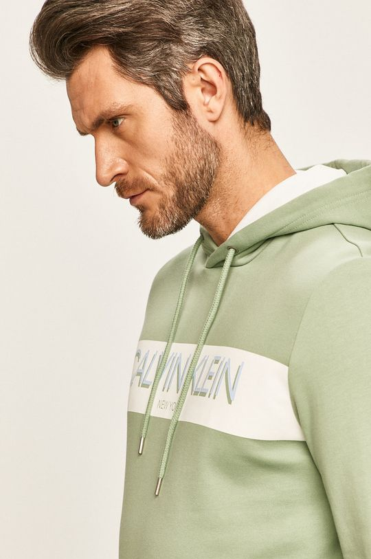 světle zelená Calvin Klein - Mikina