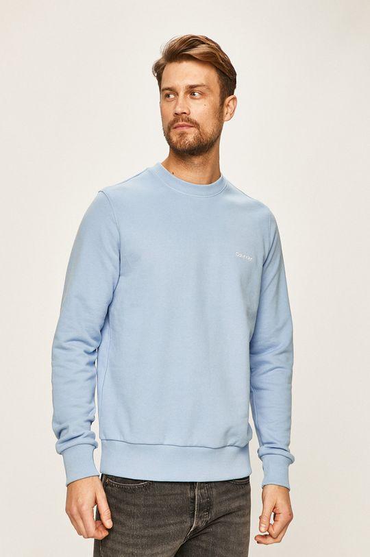albastru deschis Calvin Klein - Bluza De bărbați