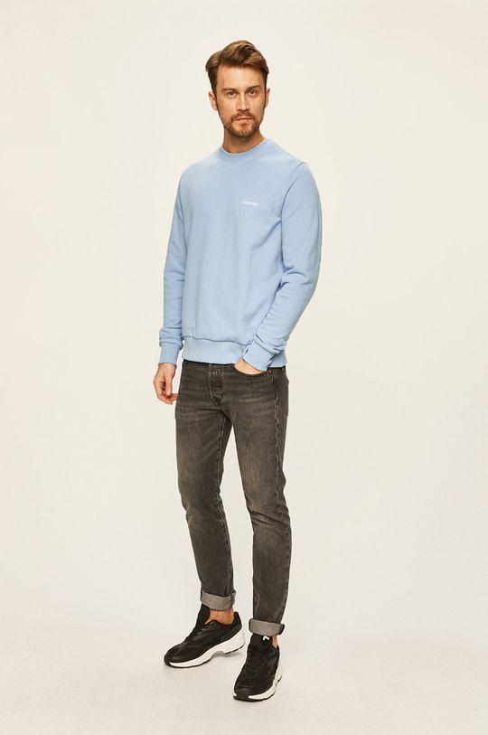 Calvin Klein - Bluza albastru deschis