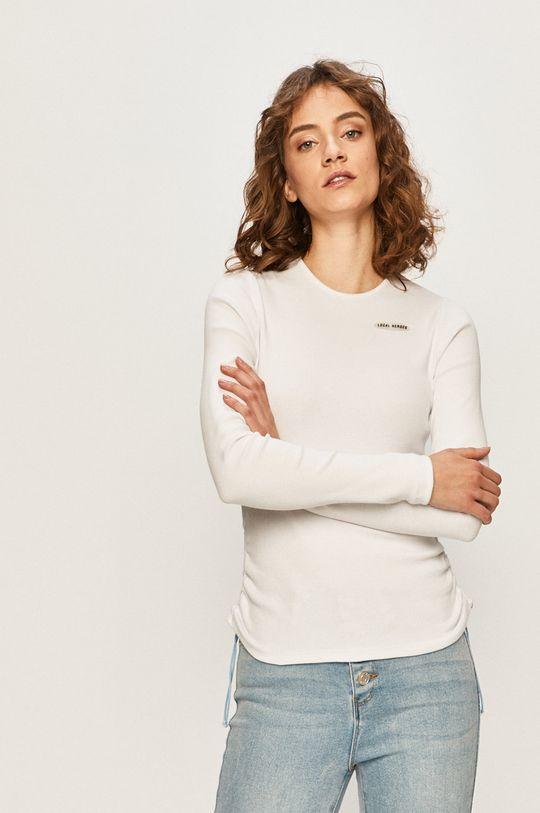 biela Local Heroes - Tričko s dlhým rukávom Dámsky