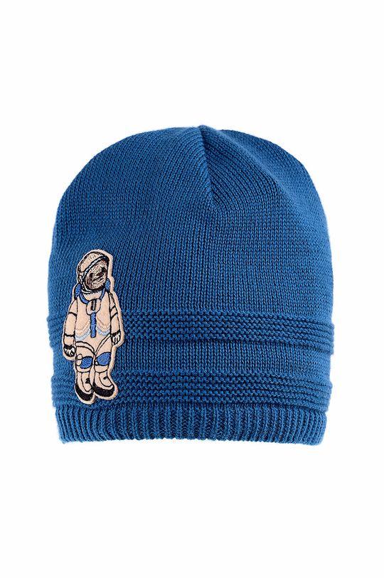 niebieski Giamo - Czapka dziecięca Chłopięcy