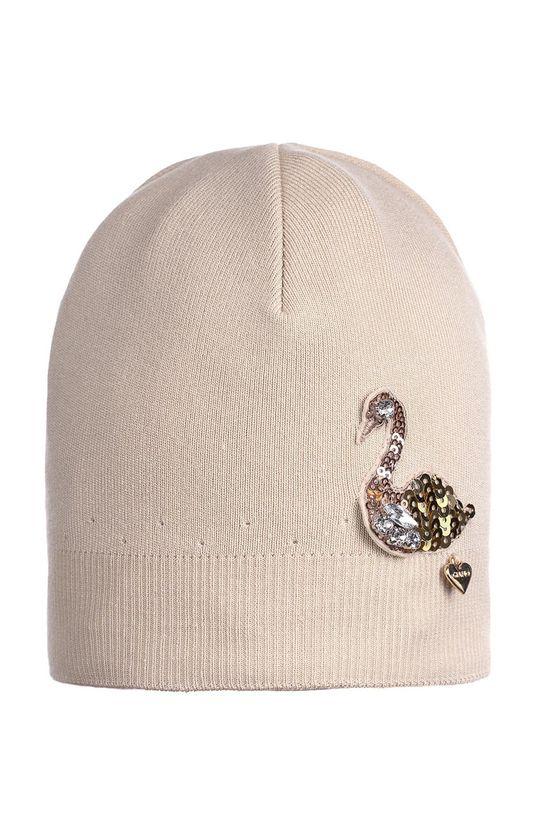 бежов Giamo - Детска шапка Момиче