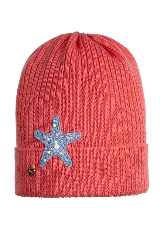 наситеночервен Giamo - Детска шапка Момиче