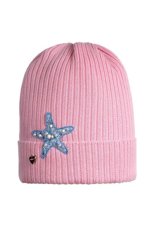 розов Giamo - Детска шапка Момиче