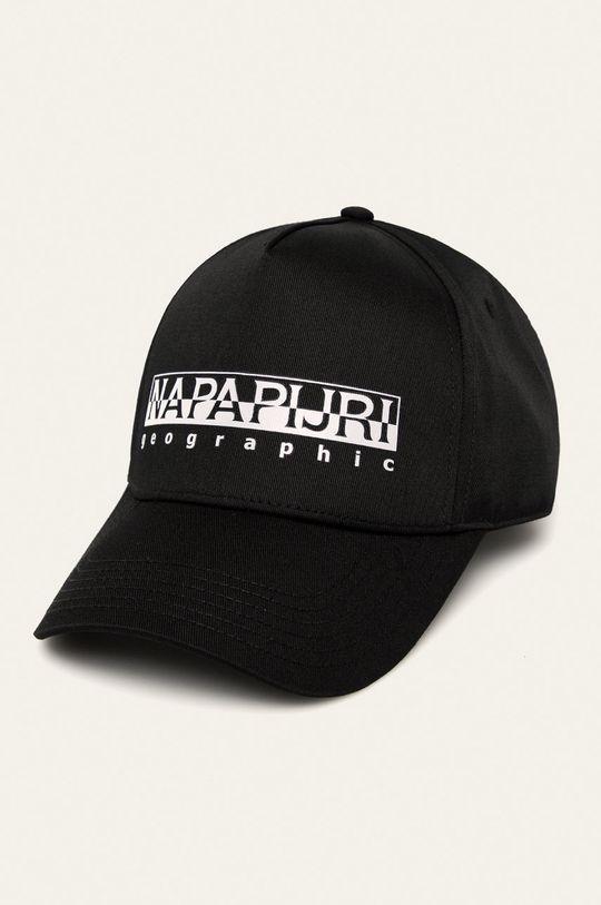 čierna Napapijri - Čiapka Pánsky