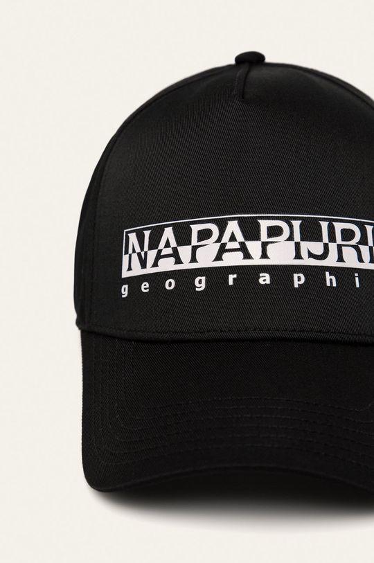 Napapijri - Čiapka  6% Bavlna, 94% Polyester