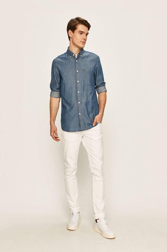 Calvin Klein - Rifľová košeľa  100% Bavlna
