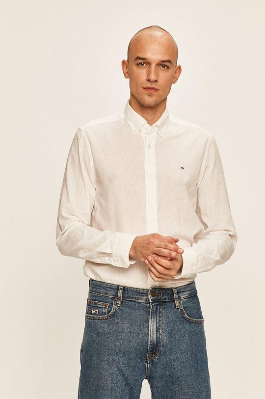bílá Calvin Klein - Košile Pánský