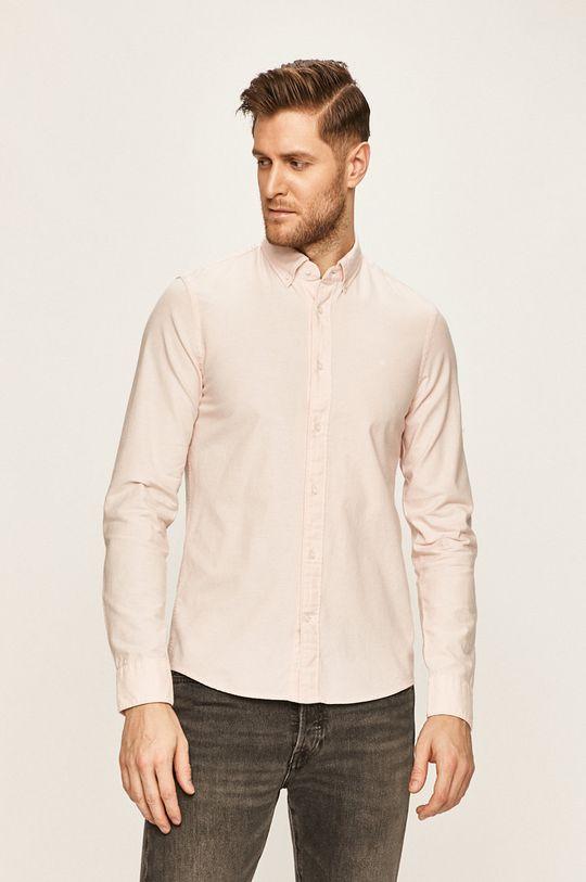 pastelově růžová Calvin Klein - Košile Pánský