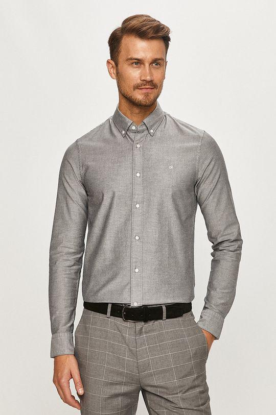 gri Calvin Klein - Camasa K10K105280 De bărbați