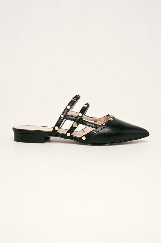 negru Trussardi Jeans - Slapi de piele De femei