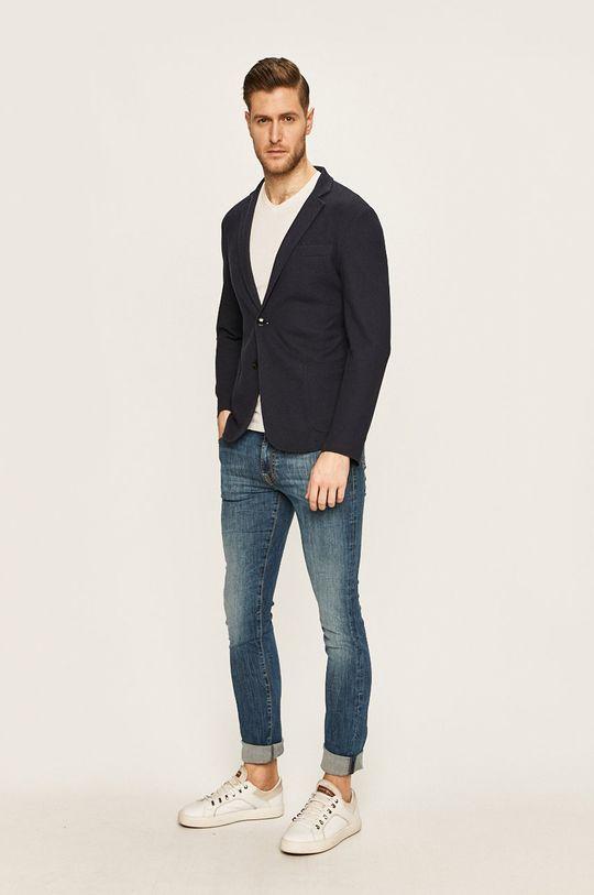 Trussardi Jeans - Marynarka Podszewka: 100 % Poliester, Materiał zasadniczy: 45 % Bawełna, 55 % Poliester