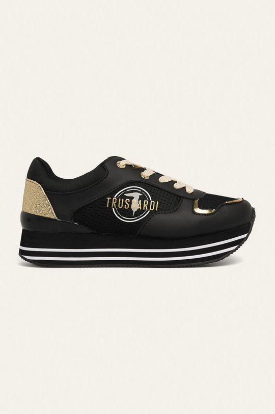 čierna Trussardi Jeans - Topánky Dámsky