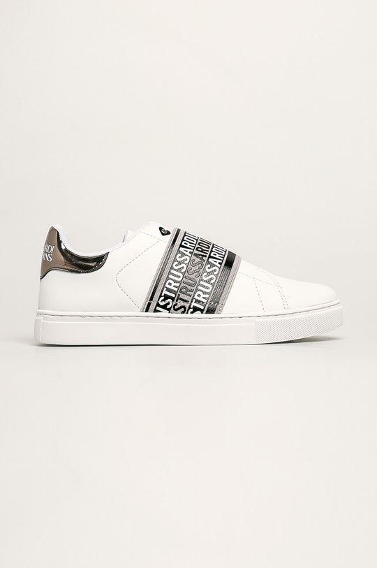 biały Trussardi Jeans - Buty Damski