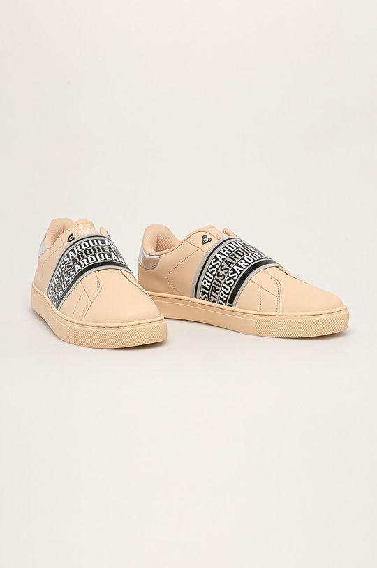 Trussardi Jeans - Boty béžová