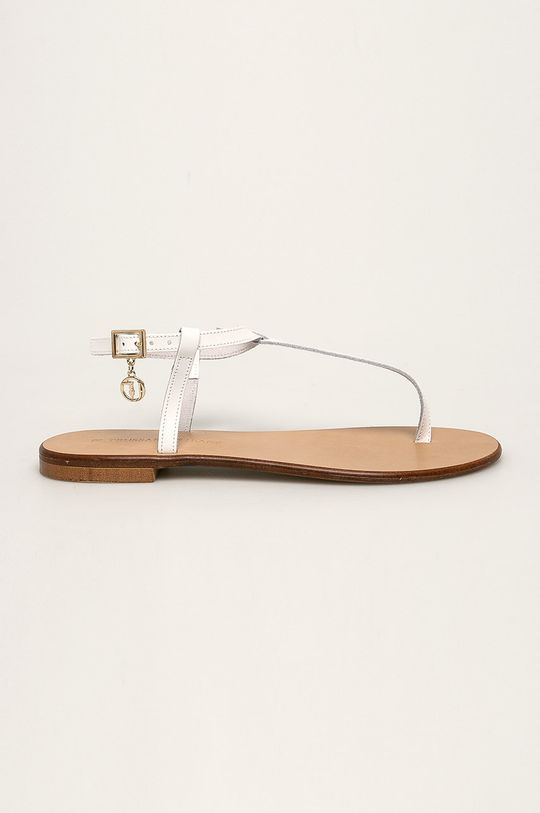 biela Trussardi Jeans - Sandále Dámsky