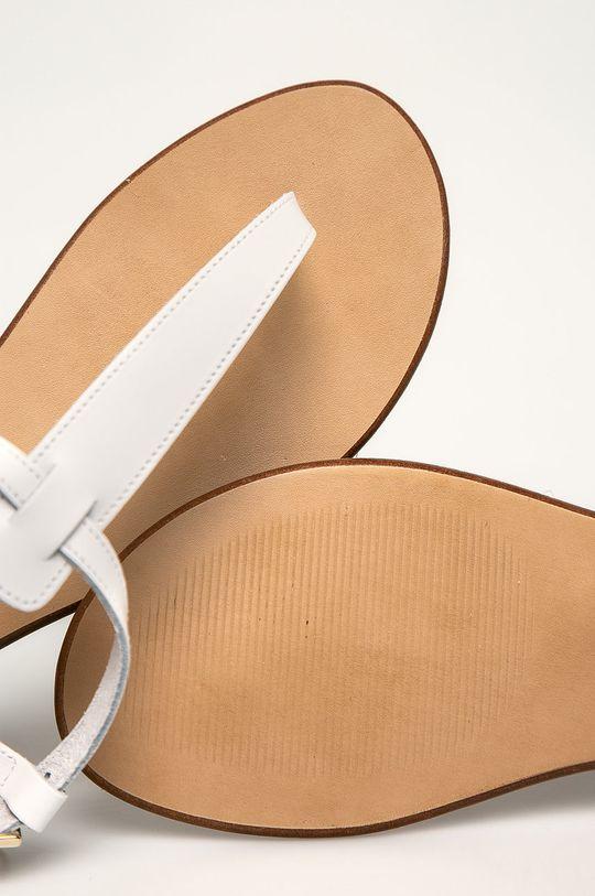 biela Trussardi Jeans - Sandále