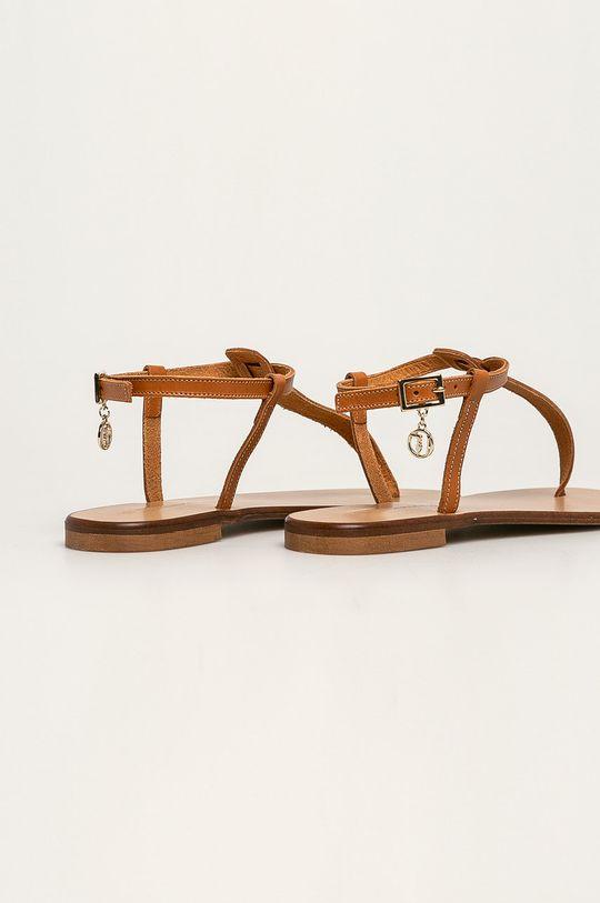 Trussardi Jeans - Sandály Svršek: Umělá hmota Vnitřek: Přírodní kůže Podrážka: Umělá hmota