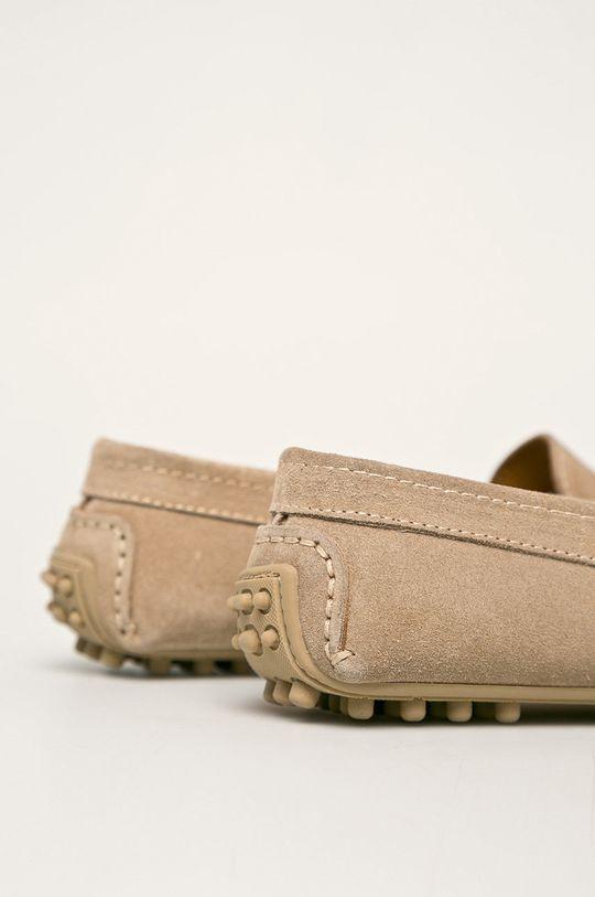 Trussardi Jeans - Mocasini de piele Gamba: Piele întoarsă Interiorul: Piele naturală Talpa: Material sintetic