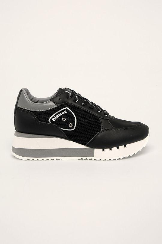 čierna Blauer - Topánky Dámsky