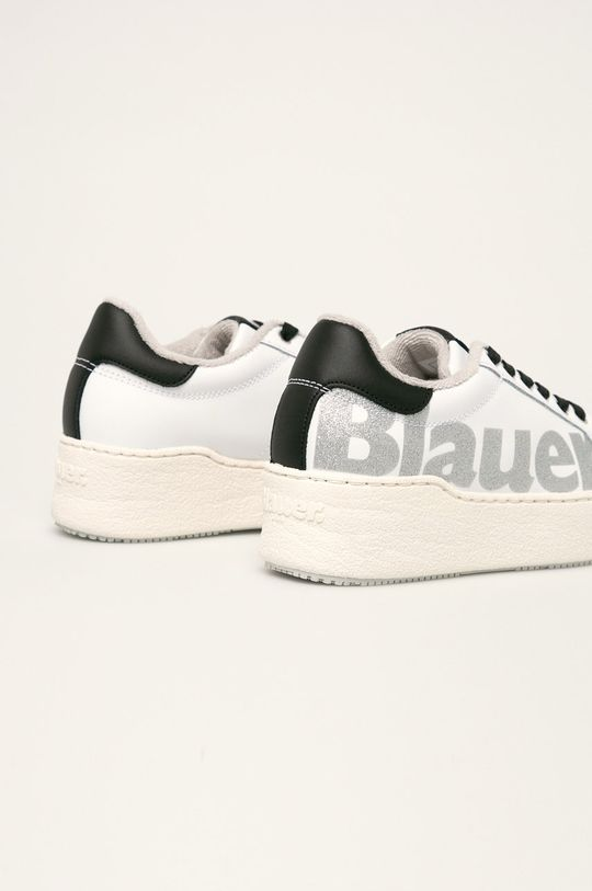 Blauer - Buty skórzane biały