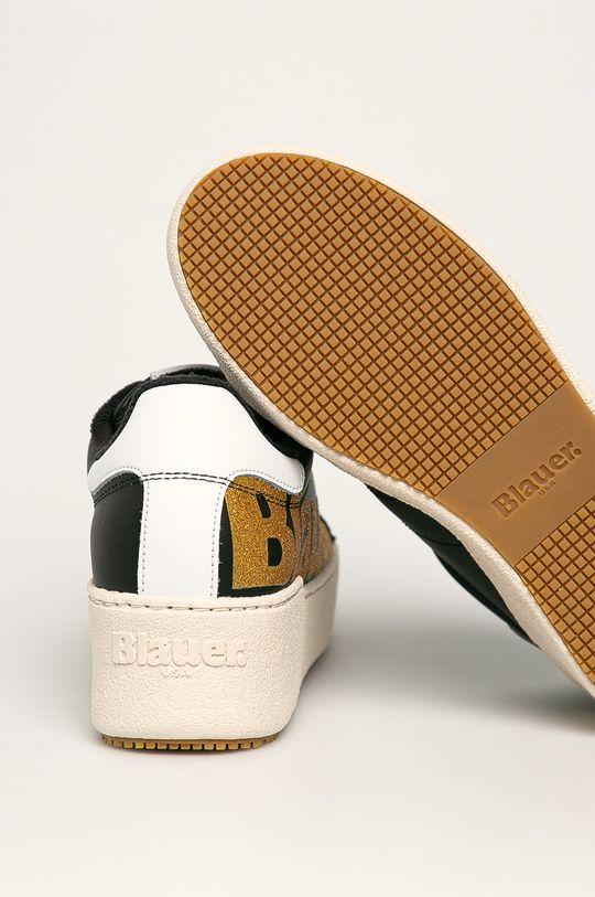 Blauer - Kožená obuv  Zvršok: Prírodná koža Vnútro: Textil Podrážka: Syntetická látka