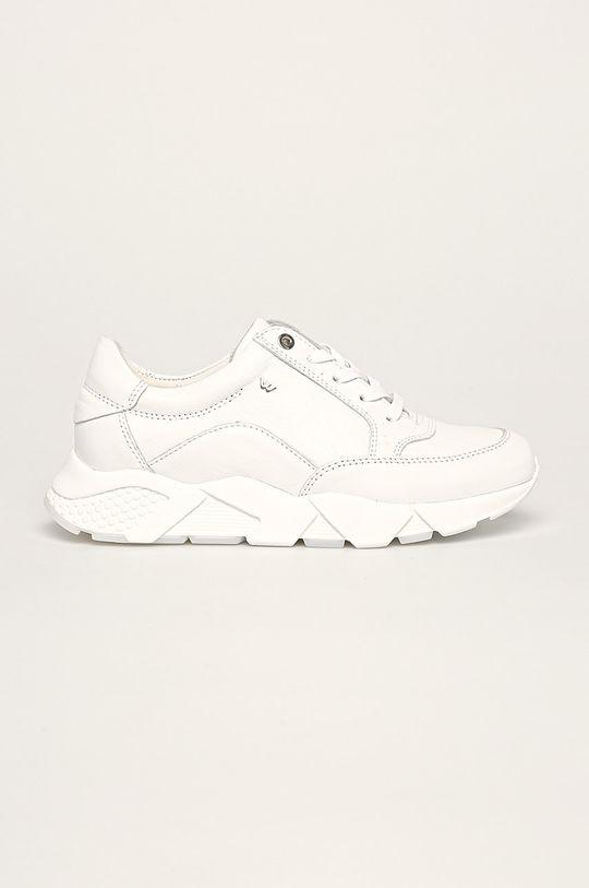 biela Wojas - Kožená obuv Dámsky