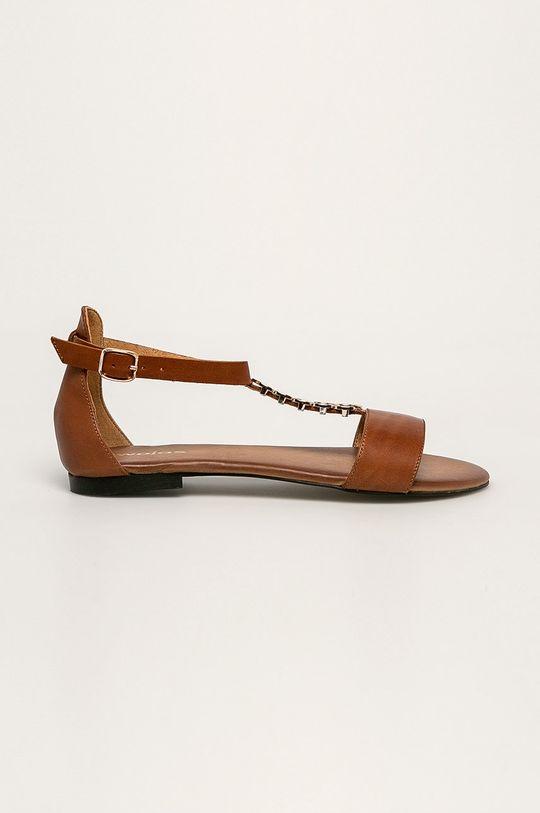 brązowy Wojas - Sandały skórzane Damski