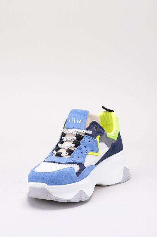 GOE - Pantofi Gamba: Material textil, Piele intoarsa Interiorul: Material sintetic, Material textil Talpa: Material sintetic