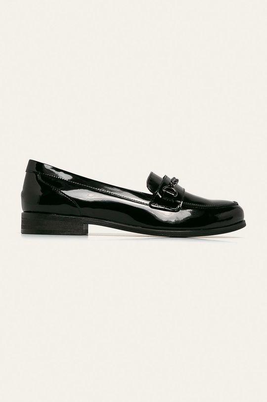 negru Wojas - Mocasini de piele De femei