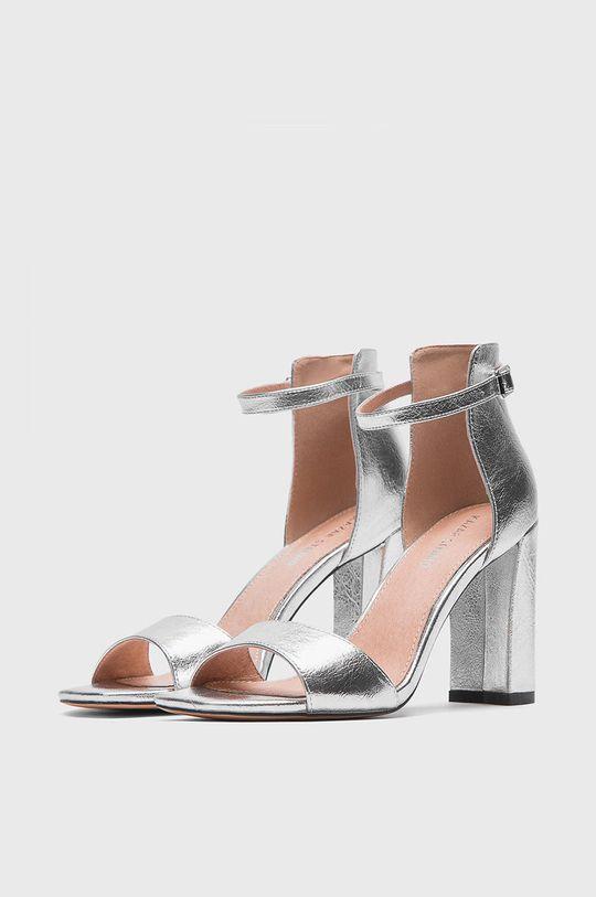 Kazar Studio - Sandały srebrny