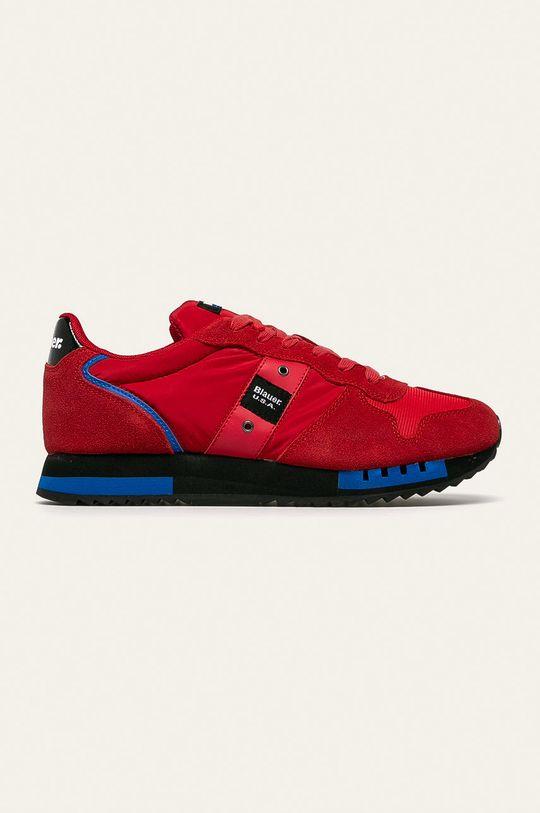 červená Blauer - Topánky Pánsky