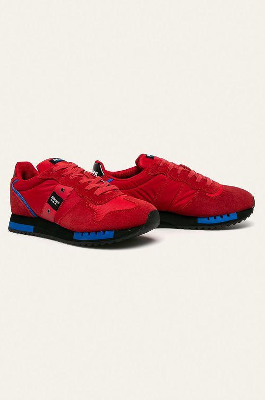 Blauer - Topánky červená