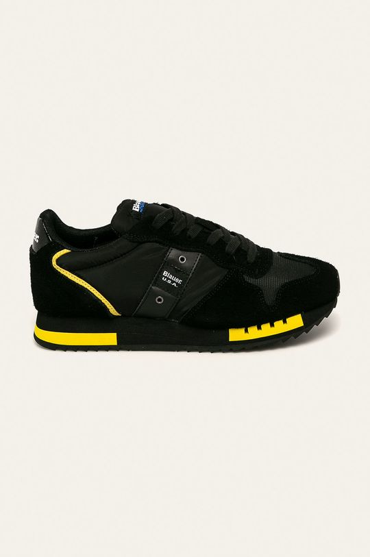 čierna Blauer - Topánky Pánsky