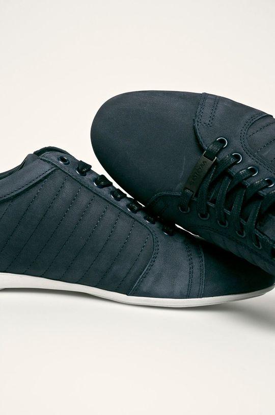 tmavomodrá Wojas - Kožená obuv