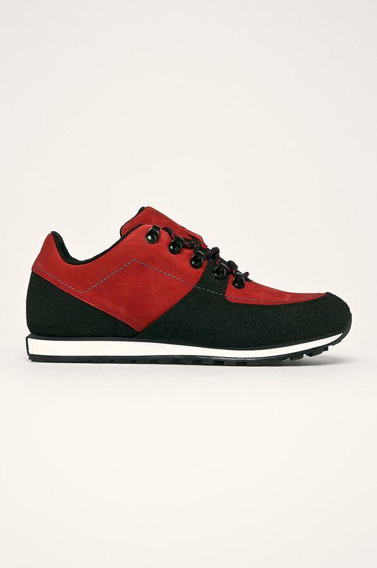 červená Wojas - Topánky Pánsky