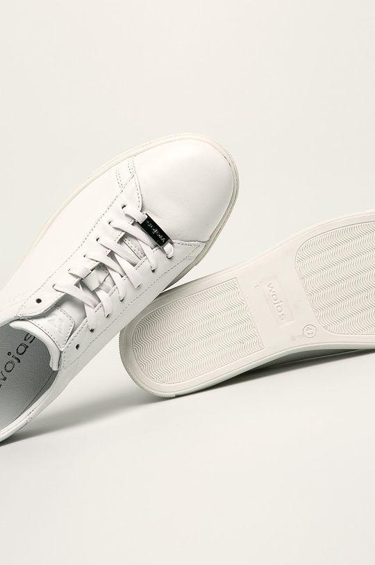 bílá Wojas - Kožené boty
