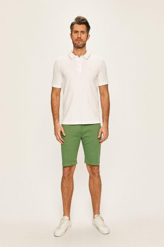 Calvin Klein - Polo tričko bílá