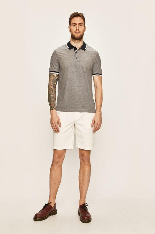 Calvin Klein - Polo tričko námořnická modř